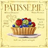 Patisserie 7 Fine Art Print