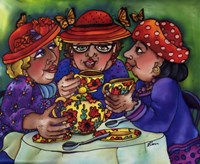 Tea For Three Fine Art Print