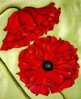 Two Poppies Fine Art Print