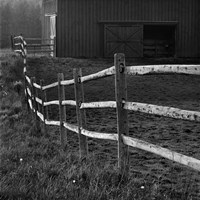 Barn Fence Fine Art Print