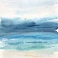 Indigo Seascape I Fine Art Print