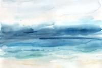Indigo Seascape Landscape Fine Art Print