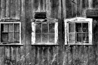 The Old Barn Window Fine Art Print