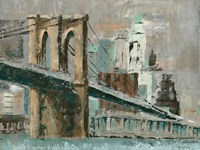 Brooklyn Bridge Cityscape Fine Art Print