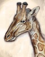 Giraffe Portrait Fine Art Print