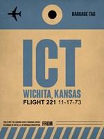 ICT Wichita Luggage Tag I Fine Art Print