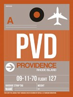 PVD Providence Luggage Tag II Fine Art Print