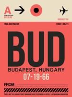 BUD Budapest Luggage Tag I Fine Art Print