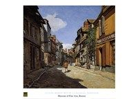 Rue de la Bavolle Fine Art Print