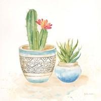 Cactus Pots I Framed Print