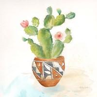 Cactus Pots II Framed Print