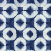 Blue Shibori III Fine Art Print