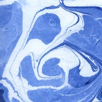 Blue Marble Quad II Fine Art Print