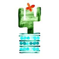 Colorful Cactus II Fine Art Print