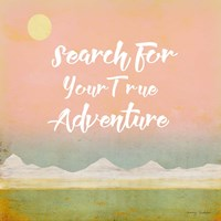 Search for Adventure II Fine Art Print