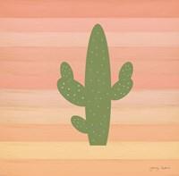Cactus Desert I Fine Art Print