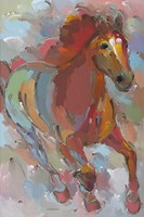 Red-Hoofed Runner Fine Art Print