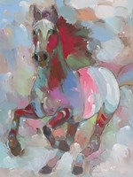 Fiery Stallion Fine Art Print