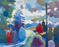 Stream into Consciousness #2 Fine Art Print
