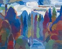 Stream into Consciousness Fine Art Print