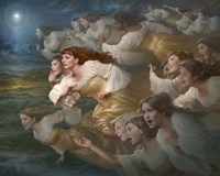 The Herald Angels Fine Art Print