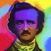 Edgar Allen Poe Pop Art Fine Art Print