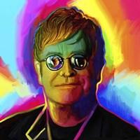 Elton John Pop Art Fine Art Print