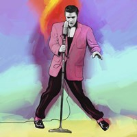 Elvis Pop Art Fine Art Print