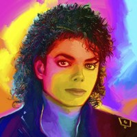 Michael Jackson Pop Art Fine Art Print