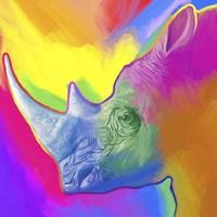 Rhino Pop Art Fine Art Print