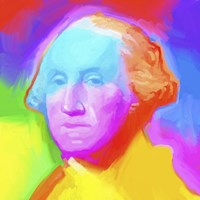 Washington Pop Art Fine Art Print