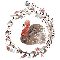 Farm 5 - Turkey Fine Art Print
