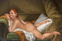 Marie-Howdy O Doody Fine Art Print