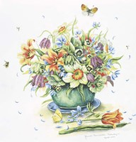 April Bouquet Fine Art Print