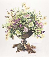 February Bouquet Fine Art Print