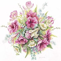 January Bouquet Fine Art Print
