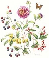 September Dahlia Fine Art Print