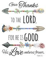 Spiritual Arrows D Fine Art Print