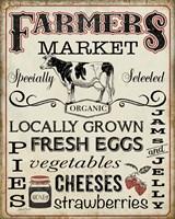 Farmers Organic Market Fine Art Print