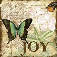 Inspirational Butterflies - Joy Fine Art Print