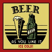 Cold Beer Fine Art Print