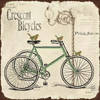 Crescent Bicycles Fine Art Print