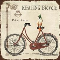Keating Bicycle Fine Art Print
