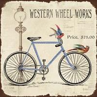 Western Wheel Works Fine Art Print