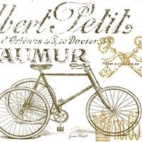 Paris  -  Tricycle B Fine Art Print