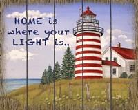 Home Lighthouse Fine Art Print
