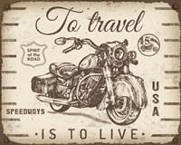 Vintage Motorcycle Mancave - A Fine Art Print