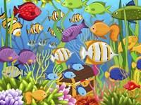 Colorful Sea Life Fine Art Print