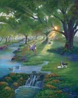 River Life Fine Art Print