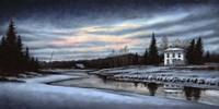 A Winter Dawn Fine Art Print